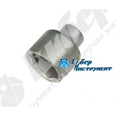 Головка торцевая 16 мм, оцинкованная (НИЗ)