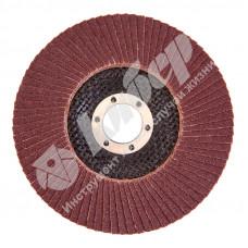 Круг лепестковый торцевой КЛТ-1 125х22мм  P80 (20-H) 14А (Луга)