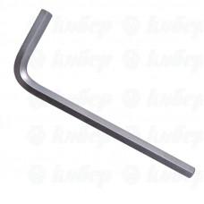 """Ключ шестигранный   4мм, покрытие хром """"GRIFF"""""""